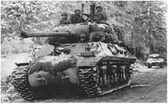 M-36 90mm Tank Destroyer (Jackson), 703rd TD Battalion, 3rd Armored Division near Malempré, 16 december 1944, the first day of the Battle of the Bulge.