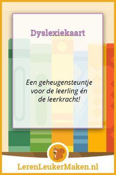 Dyslexiekaart - Een leerling met dyslexie begeleiden op school is inmiddels heel gewoon geworden. Nu dat de werkwijze van Passend Onderwijs in Nederland meer en meer ...