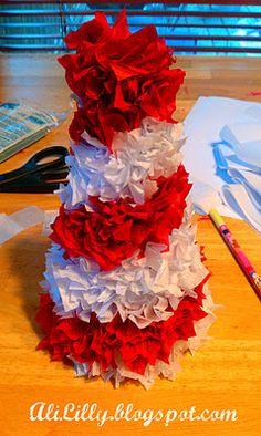 Tissue Paper Trees
