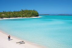 A beach on the island of Tetiaroa, French Polynesia, renamed 'The Brando' since it was bought by Marlon Brando in the 1960s