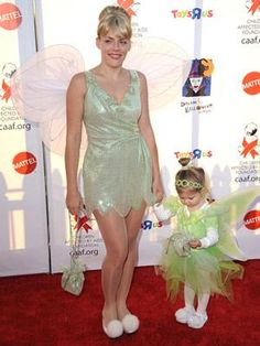Fairies come in all shapes and sizes, so you can totally wing it this Halloween with your tiny Tinkerbell in tow.