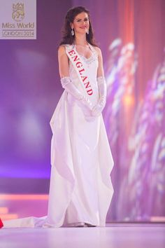 Miss England World 2014 Evening Gown: HIT or MISS? http://thepageantplanet.com/miss-england-world-2014-evening-gown/