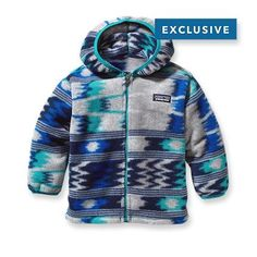 Patagonia Baby Synchilla® Fleece Cardigan - If we ever went anywhere cold.