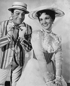 I just love Julie Andrews and Dick Van Dyke..these two are great!