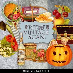 Nuevos Freebies Kit Vintage