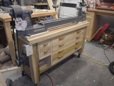 Cool Lathe Stand