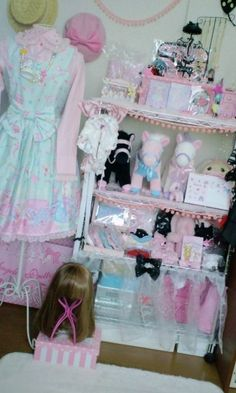 Sweet Lolita Bedroom Inspiration  I have been slowly trying to transform my bedroom into something that suits my tastes better. In other words, I want to make my room more suitable for a sweet lolita: cute and girly! When I first was able to have my own room back in…
