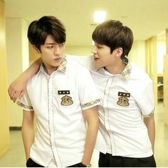 sung yeol &woohyuon in the drama