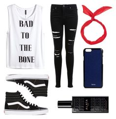 """""""Untitled #44"""" by redililla on Polyvore featuring Miss Selfridge, H&M, Vans and Valextra"""