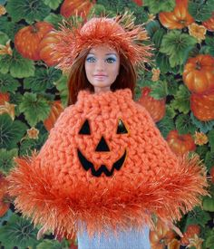 Pumpkin Picking Poncho