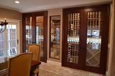A Closer Look at the Wine Cabinet in a Manhattan Beach Los Angeles home. Coastal Custom Wine Cellars designed and constructed this wine cabinet. Quality craftsmanship is showed from the wine racks, to the doors, lighting systems, and wine cellar cooling unit. Watch a video tour of this project here to know more about this project: https://youtu.be/jf8dhH8hdNQ.