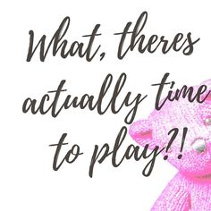 TIME TO PLAY! . Ive been making over my (our) mornings and I nearly had a wobble and almost went back to repeatedly snoozing this morning. . BUT I fought the urge and got up at the planned () 6am (alright 6:08am) and today the benefit far outweighed the tired! . I got up got dressed and put my face on laid the breakfast table had a coffee checked my emails and even did some work. The kids got up got dressed ate and Amelia was asking to put her shoes on by 8am! . We very nearly had a wobble…
