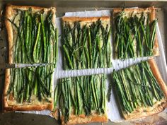Asparagus and Chive TartDelish