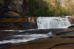 Bird Rock Falls - Transylvania County, North Carolina