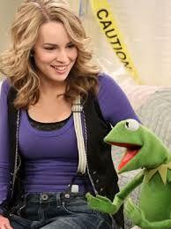 Teddy Duncan and Kermit