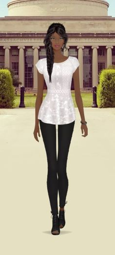 First Daughter (Presidents Daughter) Look! Styled by KAT! (DarkDuchess screen name in Covet!)