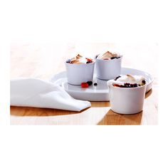 SMARTA Oven/serving dish  - IKEA. Ideal for single serve puddings and soufflés.