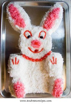 Easter Bunny Cake Cute Treats For Kids Food