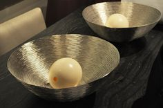 #BOWLS #SILVER #EGG #ostrich #DESIGN #Home #Accessories   For more information call us at (305)576-4566