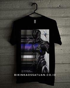 Kaos Black Power Ranger - Bikin Kaos Satuan