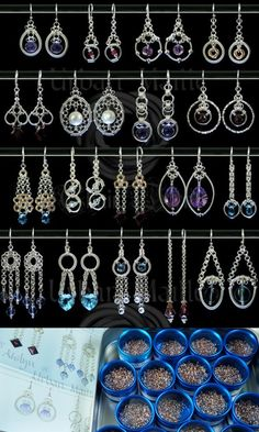 Earring Designer Ringset Round Kit | Chainmaille Kits | Urban Maille -- This RingSet is a unique item, not a kit but a technique oriented set. Please take the time to read all the information on this page before deciding if it's right for you