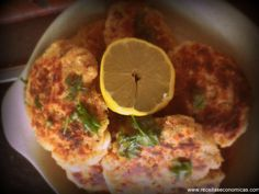 Hambúrgueres de atum e curgette - Minhas Receitas Económicas Meat, Chicken, Food, Recipes, Ideas, Meal, Eten, Meals, Buffalo Chicken