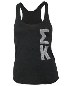 Sigma Kappa. The letters are glittered!