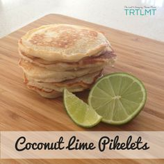 Coconut Lime Pikelets – The Road to Loving My Thermo Mixer Thermomix Pancakes, Coconut Pancakes, Lunch Box Recipes, Breakfast Recipes, Breakfast Ideas, Lunch Ideas, A1 Recipe, Food Doctor, Bellini Recipe
