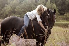 Fotoshoot met een paard