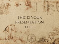 trinculo presentation template | technology | pinterest, Presentation templates