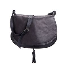 Black Leather Bag Black Hobo Bag Cross Body Leather by MatkaShop, $208.00