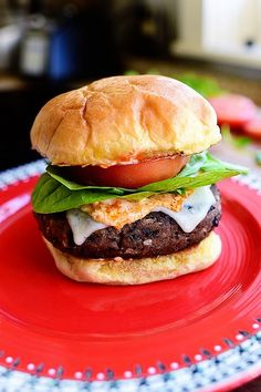 Black Bean Burgers from the Pioneer Woman--I watched her make these on her cooking show and mmm they look delish!