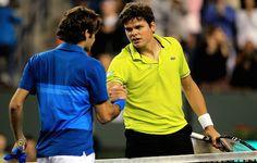 Il traguardo è vicino, mancano ancora due partite, due vittorie, prima di alzare al cielo il trofeo di Wimbledon edizione 2014 e Roger Federer e Milos Raonic sono i protagonisti di una delle due semifinali di questo terzo slam della stagione