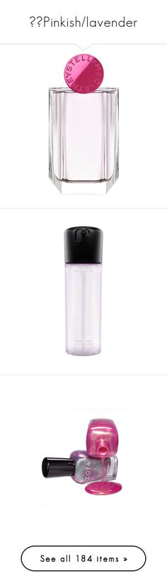 """🎭💓Pinkish/lavender"" by izzystarsparkle ❤ liked on Polyvore featuring beauty products, fragrance, stella mccartney, edp perfume, eau de perfume, stella mccartney fragrance, eau de parfum perfume, makeup, beauty and nail polish"