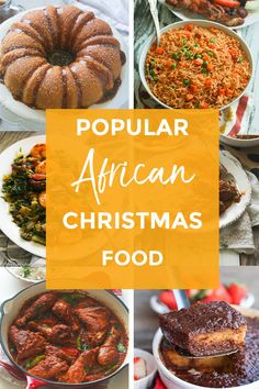 Popular African Food to Celebrate Christmas – Immaculate Bites Christmas traditions do vary in each culture but nothing beats the Christmas Dinner Menu, Christmas Lunch, Christmas Dishes, Kwanzaa Food, South African Recipes, Ethnic Recipes, West African Food, African Christmas, Nigerian Food