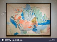 Mountain and Sea by Frankenthaler