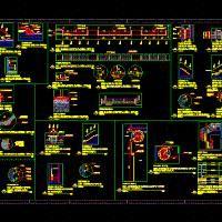 Escalera Espiral (dwg - Dibujo de Autocad) - Proyectos De Escaleras 2d