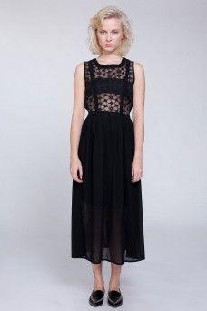 שמלת מקסי פולי