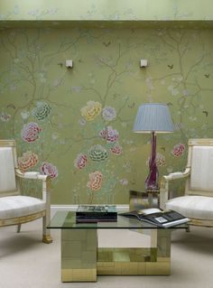 de Gournay: Our Collections - Wallpapers & Fabrics Collection - Chinoiserie Collection |