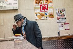 Nighthawks at the takeaway - in pictures
