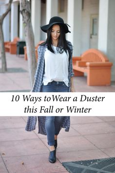 How to Wear a Duster Cardigan | Dusters, Clothes and Fashion