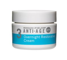 ANTI-AGE Overnight Restorative Cream is an ultra-hydrating cream which replenishes skin's natural moisturizing factors (NMFs) and stimulates collagen production while you sleep for firmer, less-lined skin in the morning.  https://danielle.myrandf.com/Shop/Product/AAPM030#
