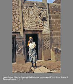 Nigeria - Carved House