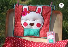 Milanesa — Funda Cojín Conejita Sweet  Bunny! happy friends collection 2013 ON Sale www.milanesabcn.bigcartel.com  children´s room
