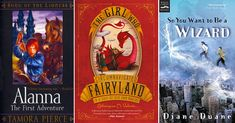 Beyond Harry Potter: 35 Fantasy Adventure Series Starring Mighty Girls: Our top 35 Mighty Girl fantasy adventure series for tweens and teens who loved the Harry Potter books.