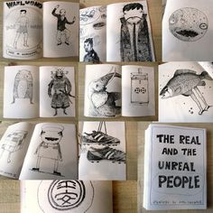 Zine-real and unreal people