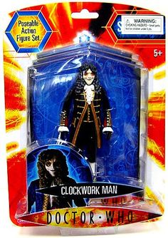 Doctor Who Underground Toys 5 inch Series 2 Action Figure Clockwork Man [Black] Doctor Who,http://www.amazon.com/dp/B0019IFC3M/ref=cm_sw_r_pi_dp_wTDqtb1G6JBHY8CT
