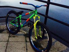 Photo of in Gateshead, United Kingdom. 2015 ns majesty park swaps for dh fr or offers Bmx Bicycle, Mtb Bike, Dh Velo, Dirt Jumper, Downhill Bike, Insta Posts, Street Bikes, Bike Design, Bike Life