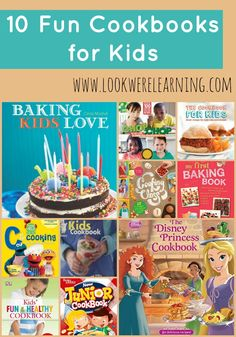 Teaching kids to cook is simple with these great children's cookbooks!