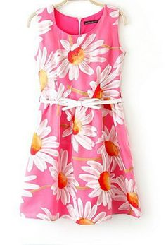 SUMMER NEW ARRIVAL FASHION LADIES' ORGANZA SUNFLOWER PRINT DRESS BRAND QUALITY 1779